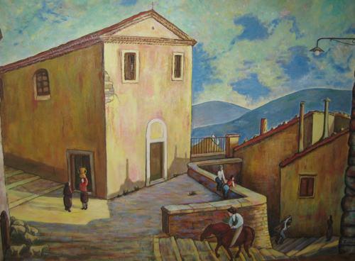 pittura di Duronia da Giuseppe Manzo